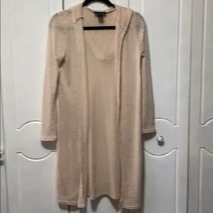 See You Monday Hoodie Cardigan Sweater size Small